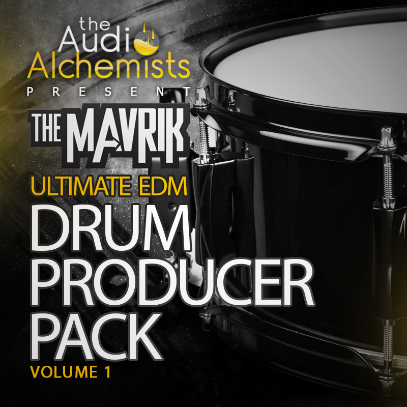 The Audio Alchemists The Mavrik Ultimate EDM Drums Vol.1 WAV Ableton Live Project
